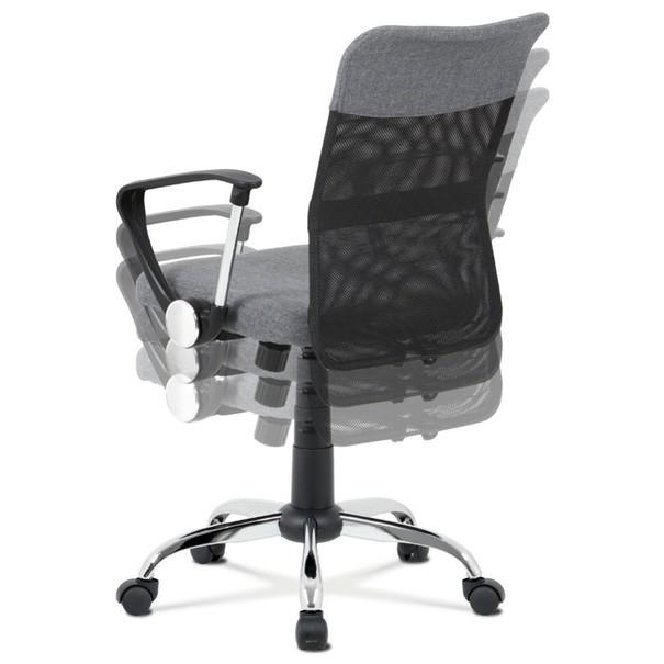 Kancelářská židle PEDRO šedá 10
