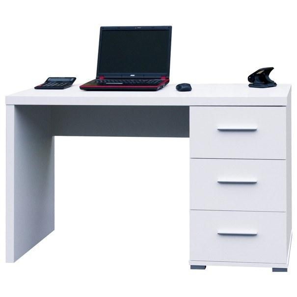 Sconto Psací stůl PEN bílá