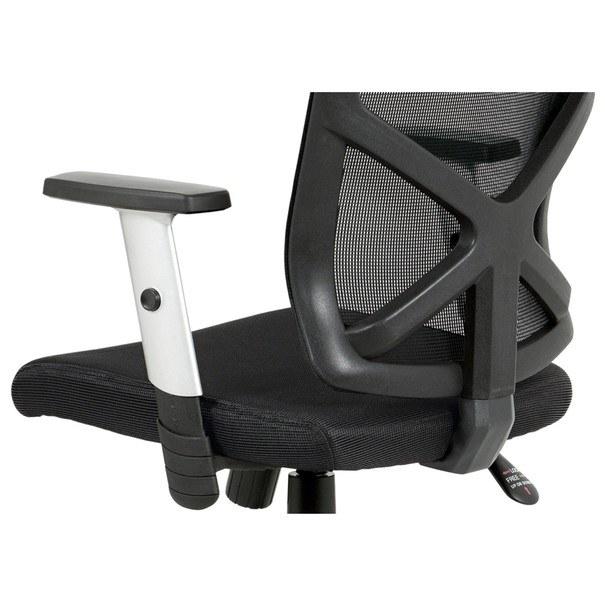 Kancelářská židle PETER černá 8