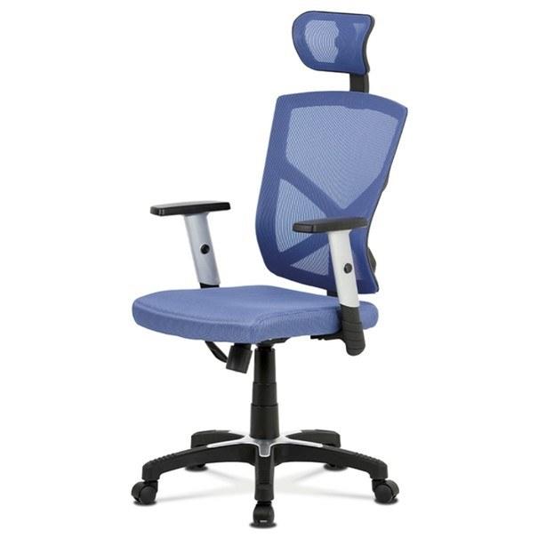 Kancelářská židle PETER modrá 1
