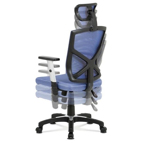 Kancelářská židle PETER modrá 2