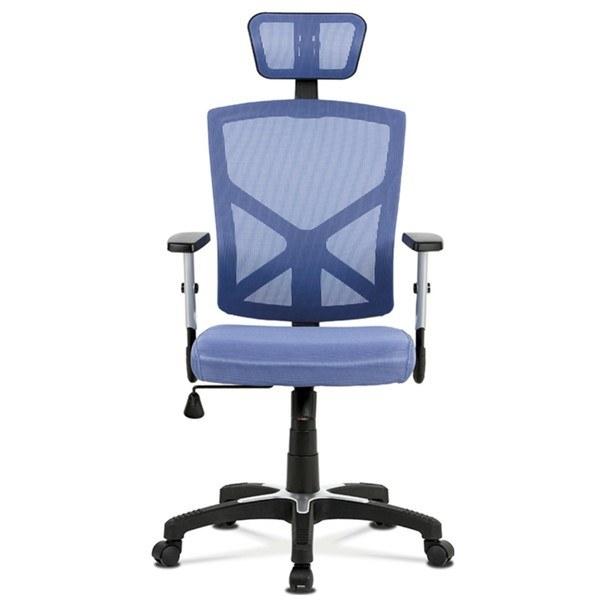 Kancelářská židle PETER modrá 3