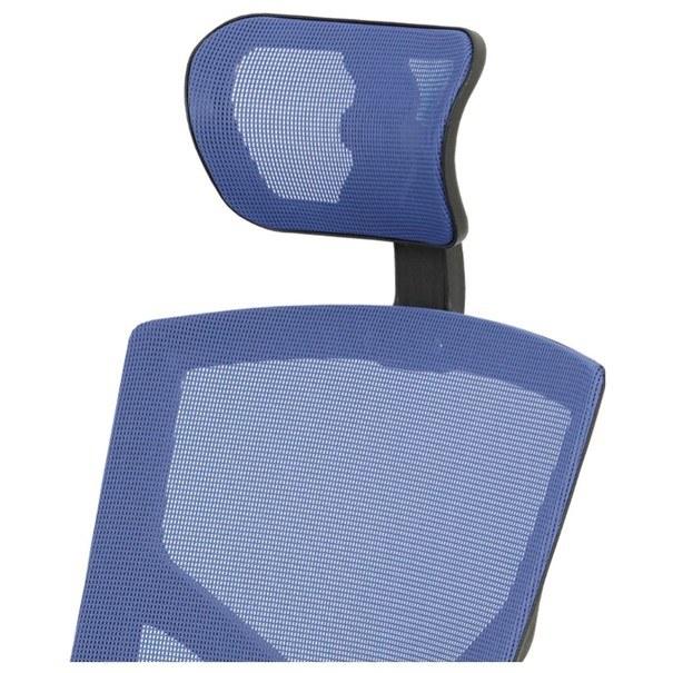 Kancelářská židle PETER modrá 7