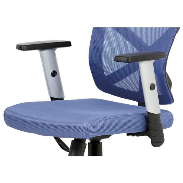 Kancelářská židle PETER modrá 12