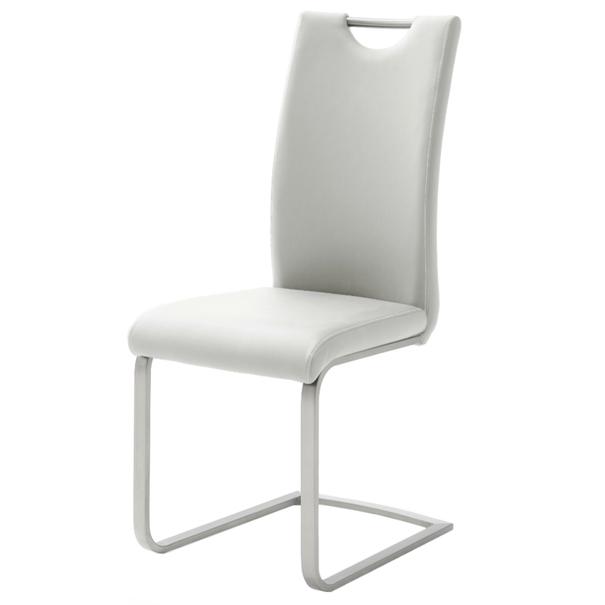 Jedálenská stolička PIPER biela 1