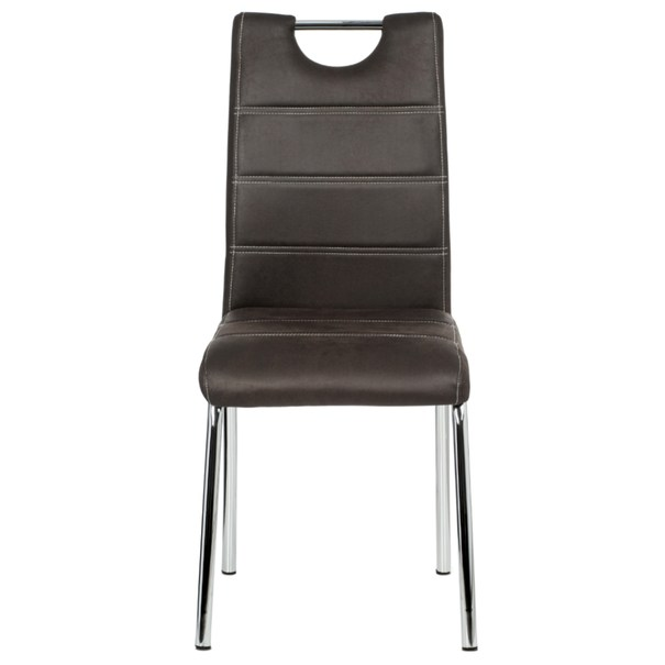 Jedálenská stolička PODA hnedá 2
