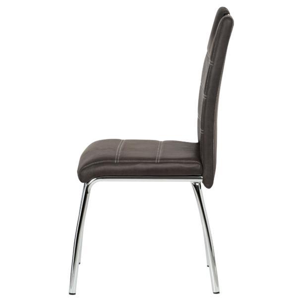 Jedálenská stolička PODA hnedá 3