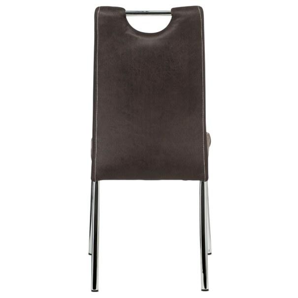 Jedálenská stolička PODA hnedá 5