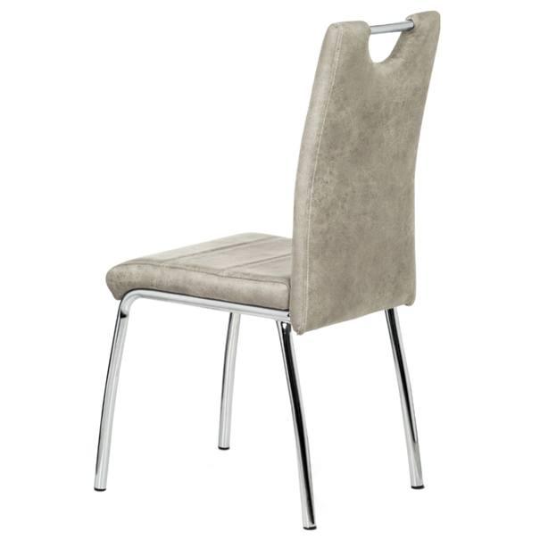 Jedálenská stolička PODA béžová 4