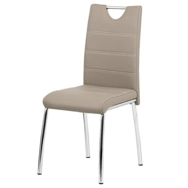 Jedálenská stolička POLA béžová 1