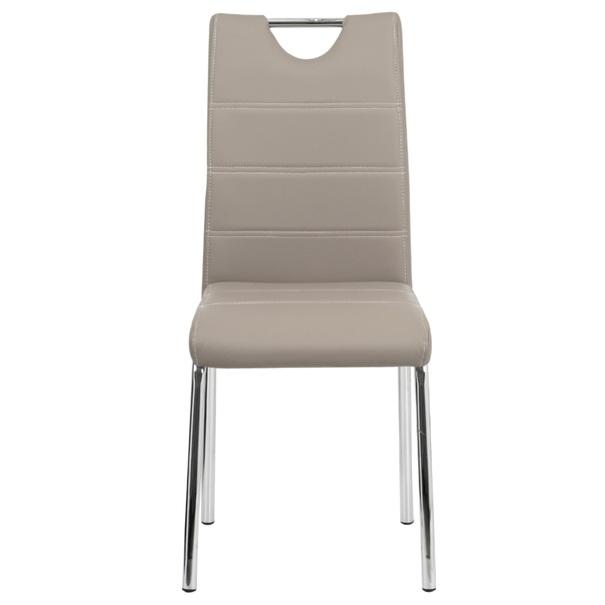 Jedálenská stolička POLA béžová 2