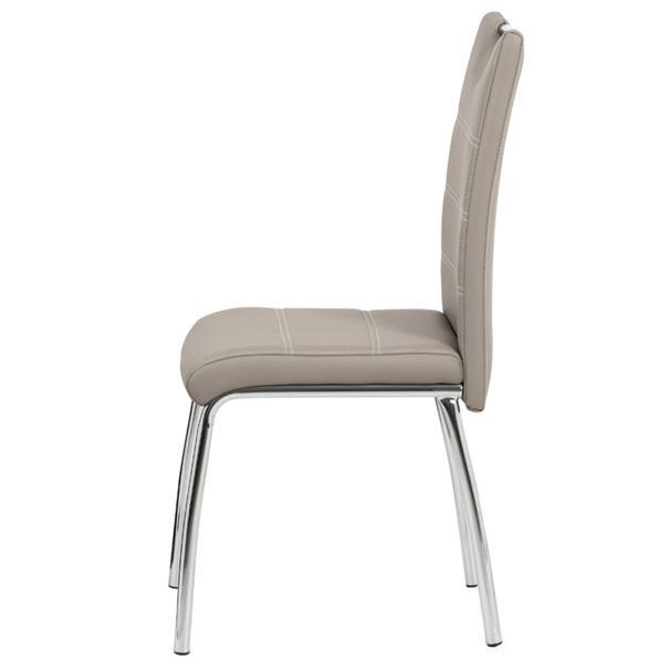 Jedálenská stolička POLA béžová 3
