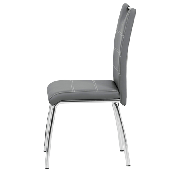 Jedálenská stolička POLA sivá 3