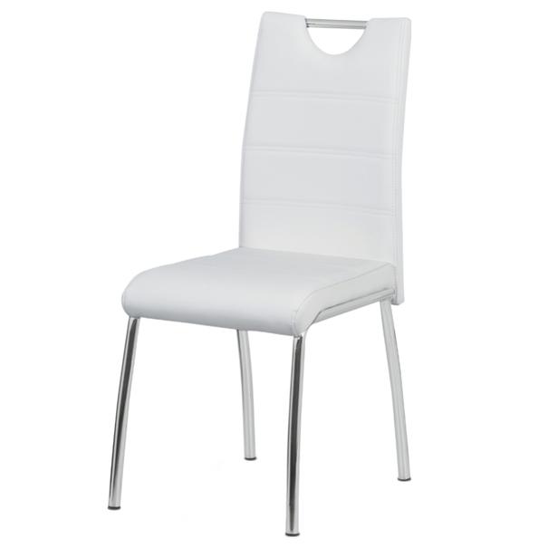 Jídelní židle POLA bílá 1