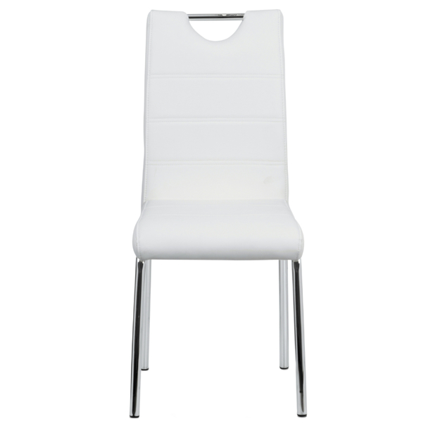 Jídelní židle POLA bílá 2