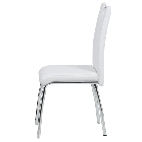 Jídelní židle POLA bílá 3