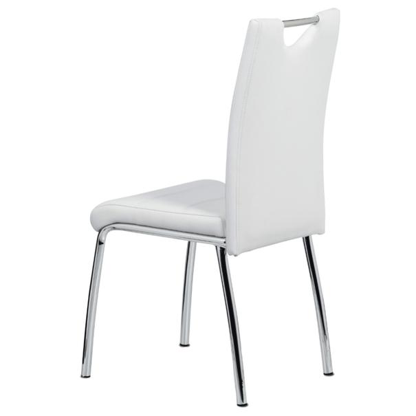 Jídelní židle POLA bílá 4