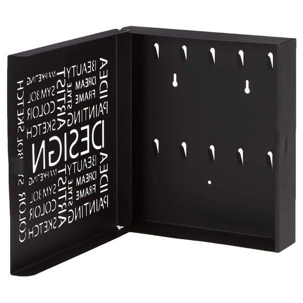 Skříňka na klíče POLOS černá 2