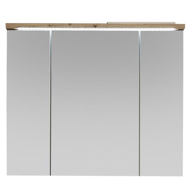 Zrcadlová skříňka POOL dub artisan, 80 cm 3