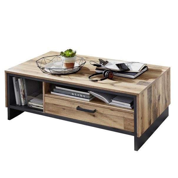 Sconto Konferenční stolek PRATO alpine lodge/grafit - nábytek SCONTOnábytek.cz