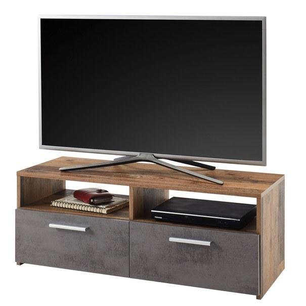 TV stolek RANA  old style/antracit 1