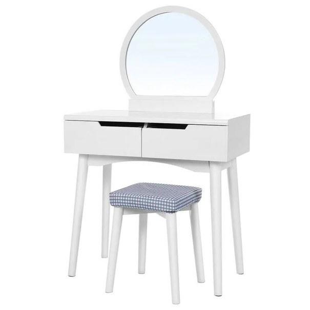 Sconto Toaletní stolek RDT11 bílá - nábytek SCONTOnábytek.cz