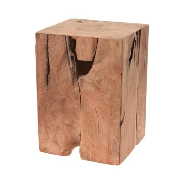 Odkládací stolek  RECYKLE přírodní 1