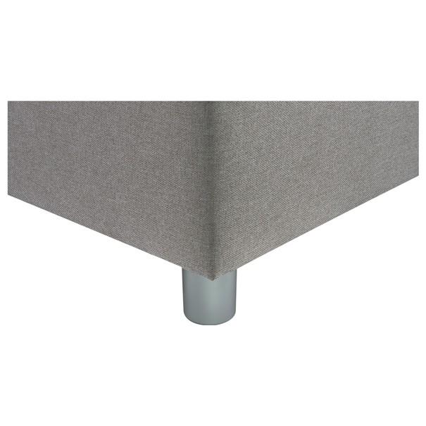 Posteľ s polohovacími roštami REFLEX sivo-hnedá, 180x200 cm 6