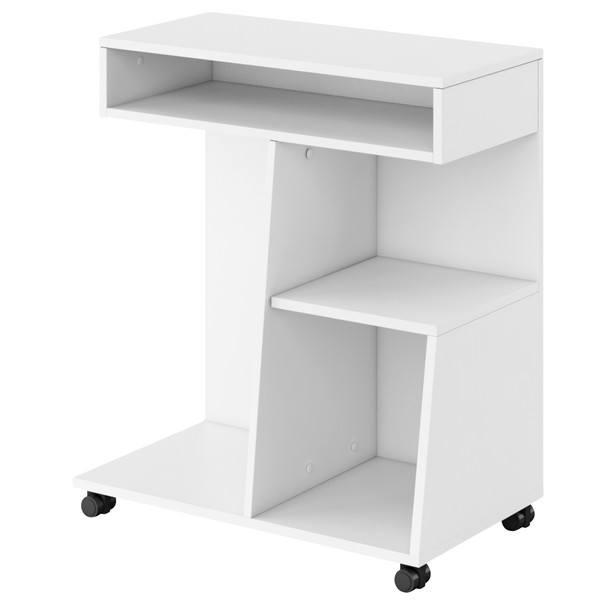 Přístavný stolek REPLAY bílá 1