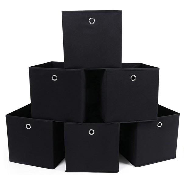 Úložný box RFB02 sada 6 ks, černá 1