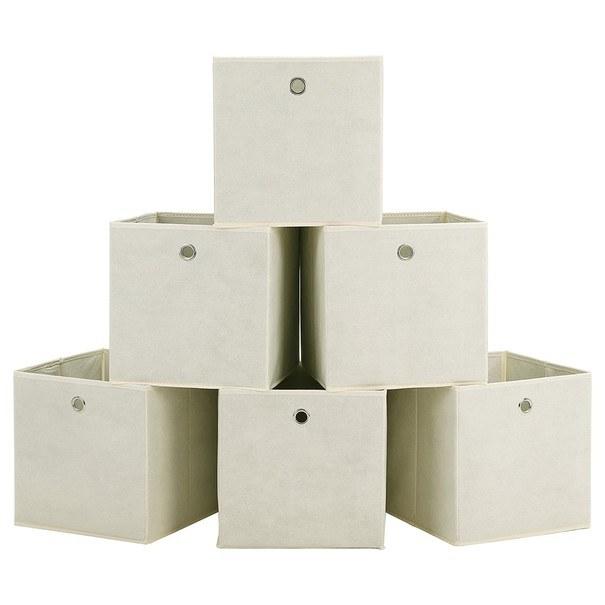 Úložný box RFB02 sada 6 ks, béžová 1