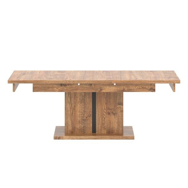 Konferenční stolek  RIAN dub/černá 3
