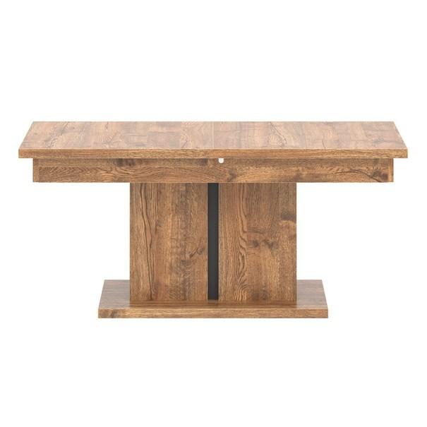 Konferenční stolek  RIAN dub/černá 4