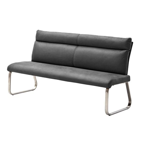 Jedálenská lavica RILEY 1 sivá 1
