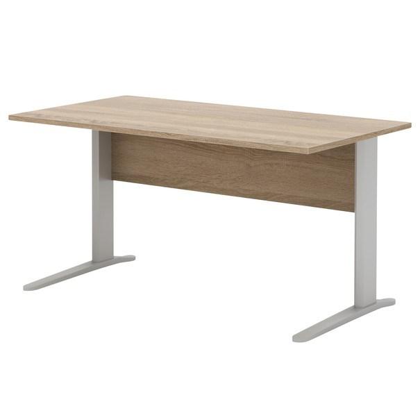 Psací stůl RIO dub sonoma/šedá 1