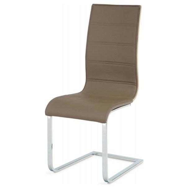Jedálenská stolička RITA hnedá 1