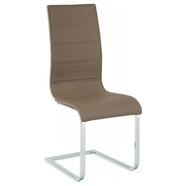 Jedálenská stolička RITA hnedá 2