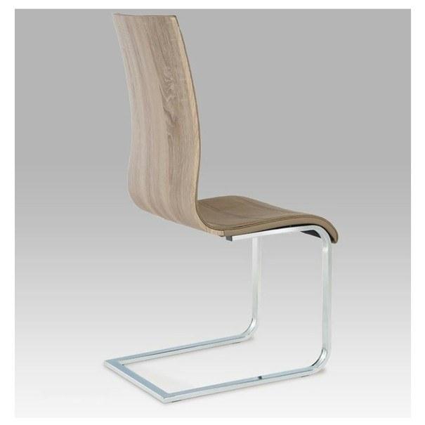 Jedálenská stolička RITA hnedá 3