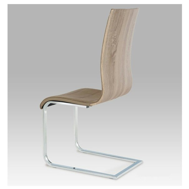 Jedálenská stolička RITA hnedá 4