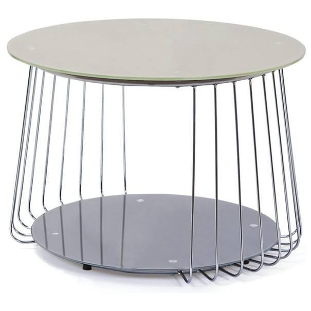 Sconto Přístavný stolek RIVOLI ø 70 cm - nábytek SCONTOnábytek.cz