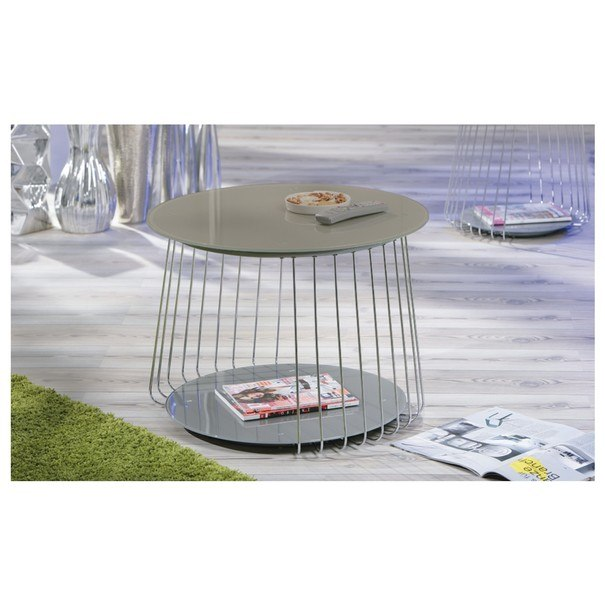 Přístavný stolek RIVOLI ø 70 cm 2