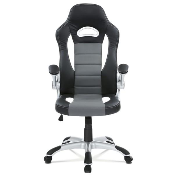 Kancelářská židle ROBERT černá/šedá 2