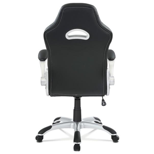 Kancelářská židle ROBERT černá/šedá 5