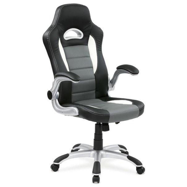 Kancelářská židle ROBERT černá/šedá 6