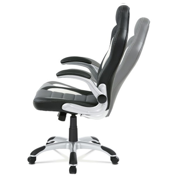 Kancelářská židle ROBERT černá/šedá 8