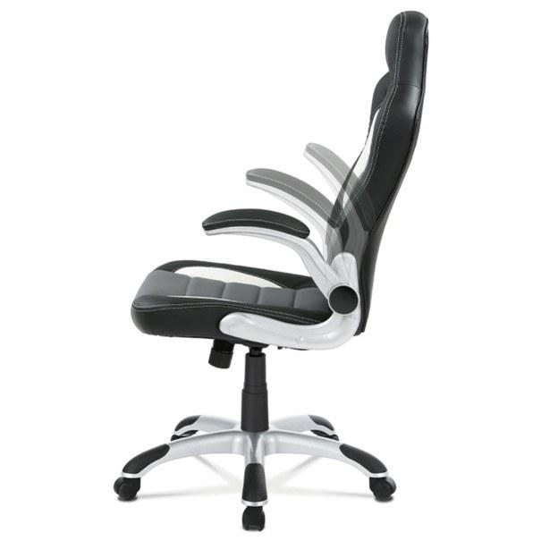 Kancelářská židle ROBERT černá/šedá 9