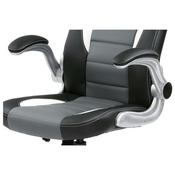 Kancelářská židle ROBERT černá/šedá 11