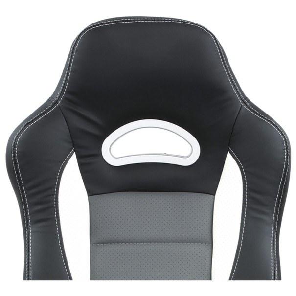 Kancelářská židle ROBERT černá/šedá 12
