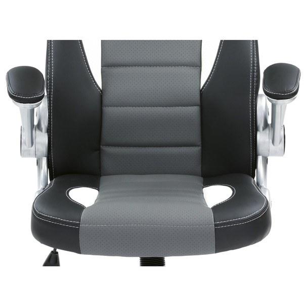 Kancelářská židle ROBERT černá/šedá 13