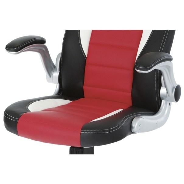 Kancelářská židle ROBERT černá/červená 12